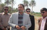 فرماندار  شهرستان کهنوج به همراه مسؤلان از پروژه کنارگذر این شهر بازدید کردند