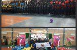 چهارمین المپیاد ورزشی درون مدرسه ای دبیرستان نمونه ابرار جیرفت افتتاح شد / تصاویر
