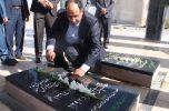 تجدید میثاق رئیس جدید دانشگاه آزاد جیرفت با آرمانهای شهداء گرانقدر  / تصاویر