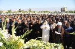 پیکر مهندس محمدرضا رئیسی نژاد بر دستان مردم قدرشناس جیرفت تشییع شد/ ۲۵ تصویر