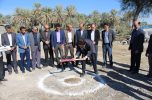 عملیات احداث مرکز تسهیلات زایمانی فاریاب آغاز شد /تصاویر