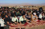 مراسم سومین روز عروج شهادت سرباز وظیفه علی لر جعفرآبادی برگزار شد