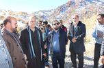 بازدید اصحاب رسانه جنوب کرمان از منطقه دیمند و گویگان جیرفت / مردم خواستار آسفالت جاده و امکانات هستند