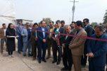 افتتاح ۳ طرح کشاورزی در جیرفت و عنبرآباد