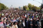 راهپیمایی باشکوه ۲۲ بهمن در جیرفت به روایت تصاویر