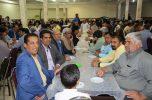 ضیافت افطاری به میزبانی شورای اصلاحات جیرفت برگزار شد / تصاویر