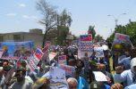 راهپیمایی باشکوه روز قدس در گرمای نفس گیر جیرفت برگزار شد / ۴۰تصویر