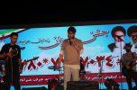 جشن بزرگ گلریزان با حضور حامد زمانی خوانند نسل جوان، در جیرفت برگزار شد / تصاویر