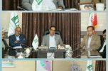 اولین جلسه شورای مدیران دانشگاه علوم پزشکی جیرفت با حضور دکتر مکارم برگزار شد