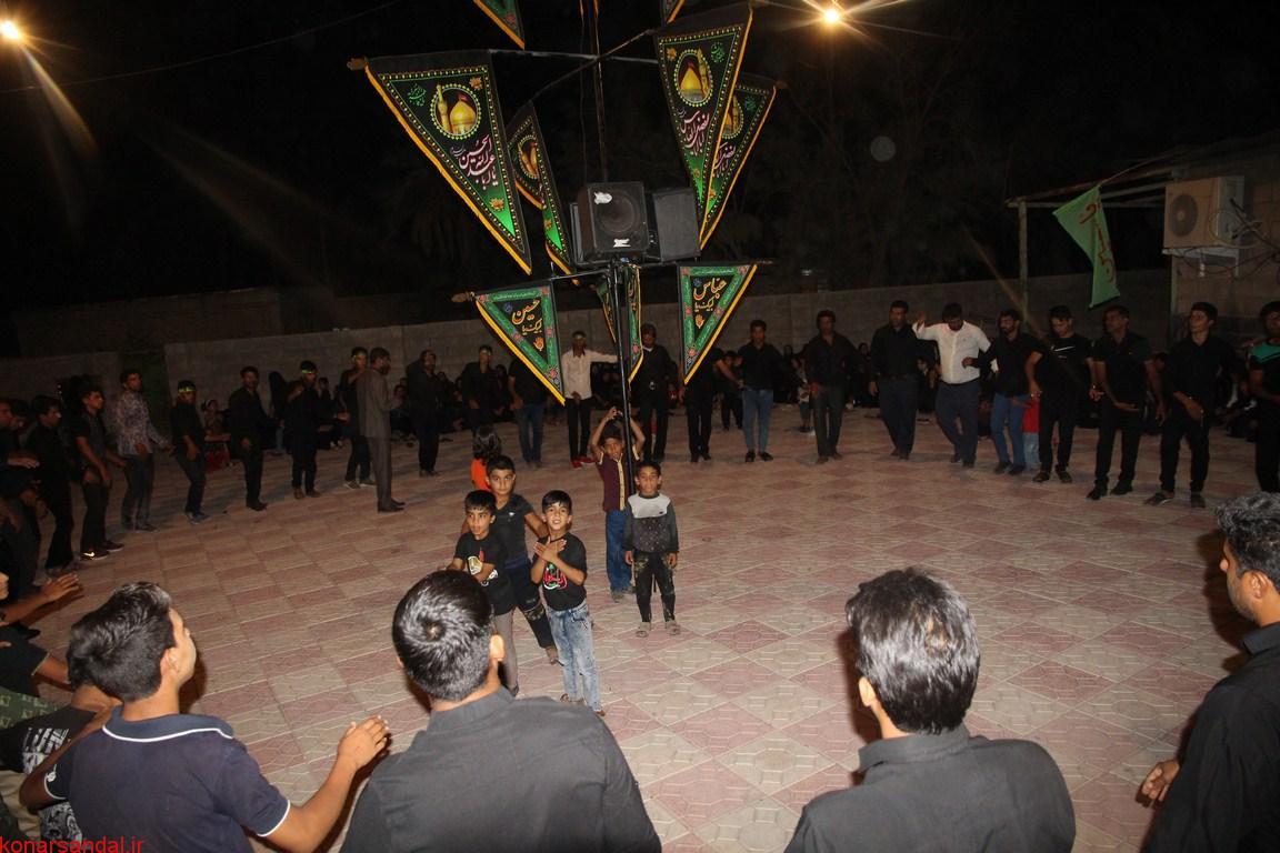 عزاداری مردم روستای دوبنه و دریاچه جیرفت در شب هفتم محرم به روایت تصاویر