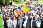 راهپیمایی باشکوه ۱۳ آبان در جیرفت برگزار شد / تصاویر