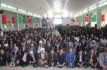 هفتمین یادواره باشکوه ۱۳۴شهید و شهدای گمنام شهرستان عنبرآباد برگزار شد / تصاویر