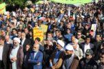 مراسم بزرگداشت حماسه ۹دی در جیرفت شهر دارالولایه برگزار شد / تصاویر