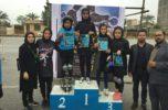 نفرات برتر مسابقات اسکیت سرعت جیرفت، معرفی شدند / تصاویر