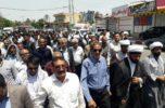 راهپیمایی روز قدس در بخش اسماعیلی جیرفت برگزار شد / تصاویر
