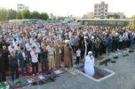 نماز باشکوه عید فطر در جیرفت برگزار شد / تصاویر