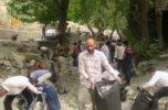 آبشار گلمای دلفارد از وجود زباله، پاکسازی شد / تصاویر