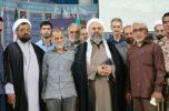 نماز جمعه جیرفت به روایت تصاویر و به مناسبت اقامه نخستین نماز جمعه انقلاب اسلامی