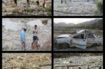 بر اثر سیلاب رودخانه میجان جیرفت، یک کودک سه ساله ناپدید شد