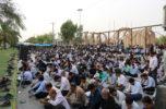 دعای عرفه در گلزار شهدای جیرفت برگزار شد/ تصاویر
