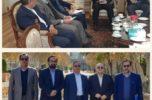 دیدار استاندار کرمان و رییس سازمان جهاد کشاورزی جنوب کرمان با معاون وزیر امور خارجه