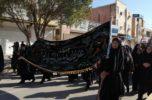 عزاداری شهادت حضرت فاطمه زهرا(س) در جیرفت برگزار شد / تصاویر