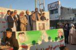 ستاد مرکزی حاج فرج الله عارفی در عنبرآباد افتتاح شد /تصاویر