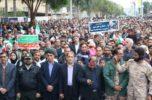 راهپیمایی باشکوه ۲۲بهمن در جیرفت برگزار شد / تصاویر