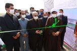 افتتاح پروژه های پخش سیلاب شهرستان قلعه گنج در سومین روز از هفته دولت