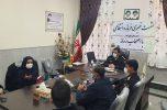 نشست فرمانده انتظامی شهرستان عنبرآباد با اصحاب رسانه جنوب استان کرمان برگزار شد