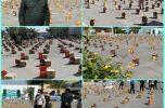 توزیع هزار بسته معیشتی در قالب طرح سردار شهید سلیمانی در عنبرآباد