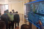 نخستین مرکز مانیتورینگ شهری جیرفت افتتاح شد