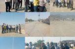 بازدید فرماندار و دادستان شهرستان منوجان از طرح های اجرایی شهرداری