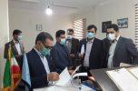 بازدید دادستان مرکز استان کرمان از دادسرای عمومی و انقلاب شهرستان عنبرآباد