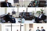 دیدار دکتر زاهدی  نماینده مردم کرمان و راور در مجلس شورای اسلامی با قهرمان طلایی پارالمپیک