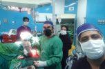 انجام یکی از سخترین عمل های جراحی در بیمارستان جیرفت