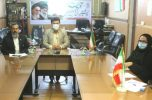 برگزاری جلسه هم اندیشی رئیس زندان جیرفت با نماینده اداره کل آموزش فنی و حرفه ای استان کرمان در جنوب